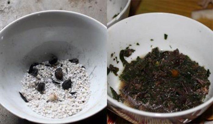 """""""Vàng đen"""" làm gia vị, tạo nên đặc trưng ẩm thực cho những món ăn dân tộc vùng Tây Bắc."""