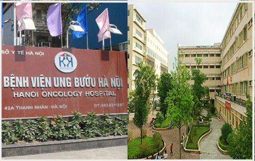 Khám bệnh tại bệnh viện ung bướu Hà Nội rất chuyên nghiệp