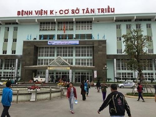 Có nhiều tuyến xe qua bệnh viện K3 Hà Nội