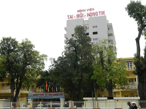 Hình ảnh bệnh viện Tai Mũi Họng Trung ương