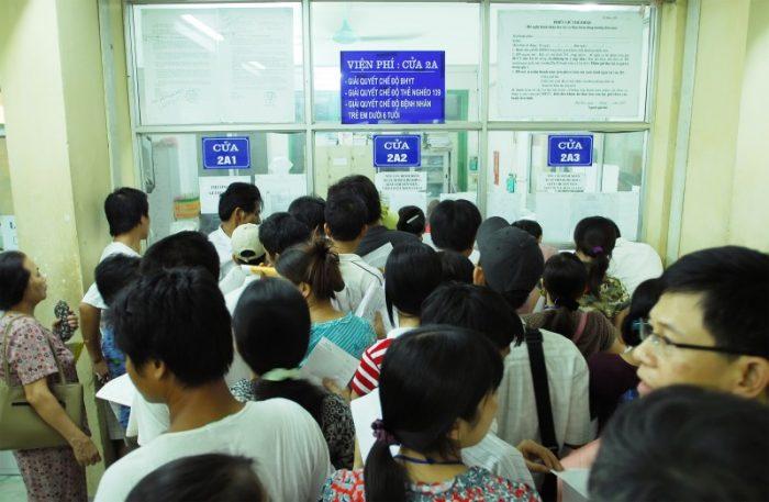 Bệnh viện K thành phố Hồ Chí Minh thường xuyên xảy ra tình trạng quá tải