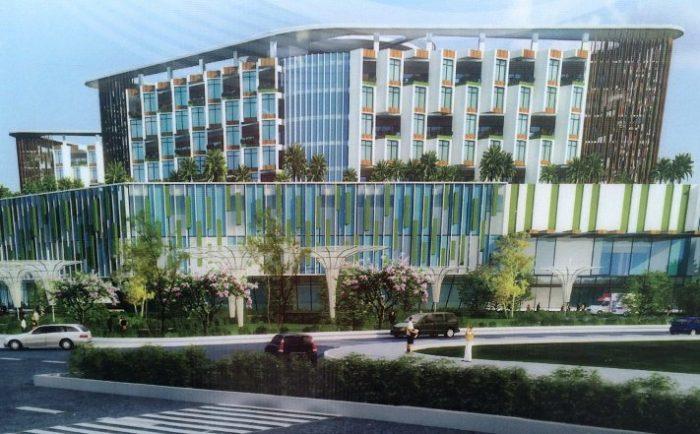 Phối cảnh cơ sở 2 Bệnh viện Ung bướu TP HCM quận 9 Hồ Chí Minh