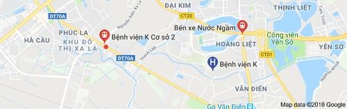 Phương tiện đi đến bệnh viện K Tựu Liệt.
