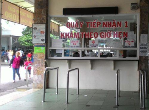 Bệnh viện Ung bướu TPHCM có khám theo lịch hẹn cho bệnh nhân tái khám.