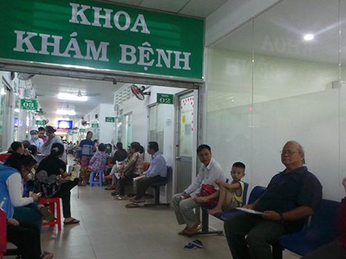 Khoa khám bệnh tại bệnh viện trung tâm Ung Bướu