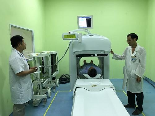Thiết bị hiện đại tại bệnh viện k trung ương cơ sở 3