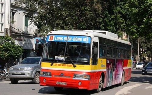 Xe 08 - Xe bus qua Bệnh viện K cơ sở 2