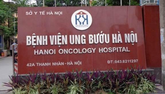 Địa chỉ bệnh viện Ung bướu Hà Nội cơ sở 1 tại 42A Thanh Nhàn, Hai Bà Trưng, Hà Nội