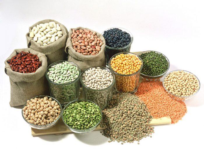 Hình ảnh các loại hạt đậu