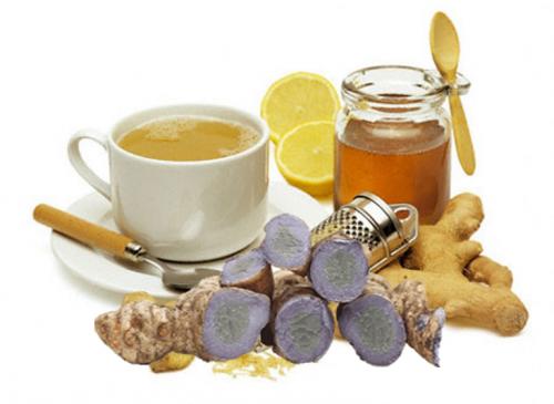 Nên kết hợp tinh bột với mật ong để dễ uống hơn