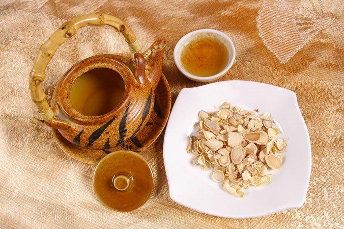 Uống trà nhân sâm mỗi ngà sẽ giúp điều trị được nhiều bệnh tật