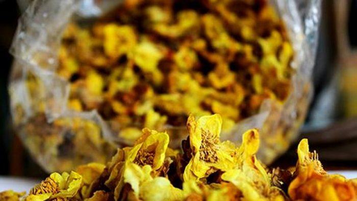 Hình ảnh chè hoa vàng sấy khô