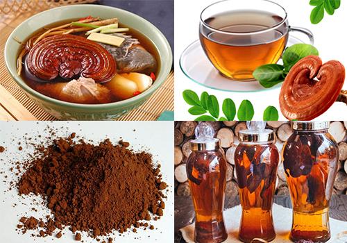 Các cách dùng nấm linh chi phổ biến hiện nay