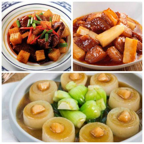 Các món ăn từ củ cải trắng tốt cho sức khỏe