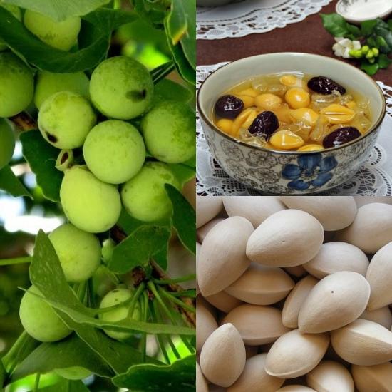Cách nấu chè sắn dây với bạch quả