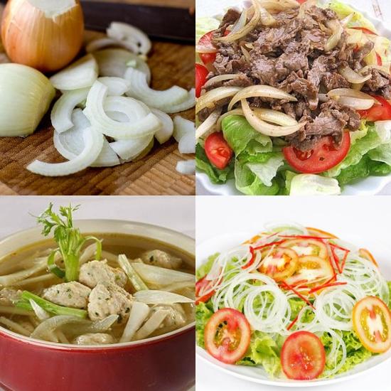 Cách chế biến hành tây thành những món ăn thơm ngon, bổ dưỡng
