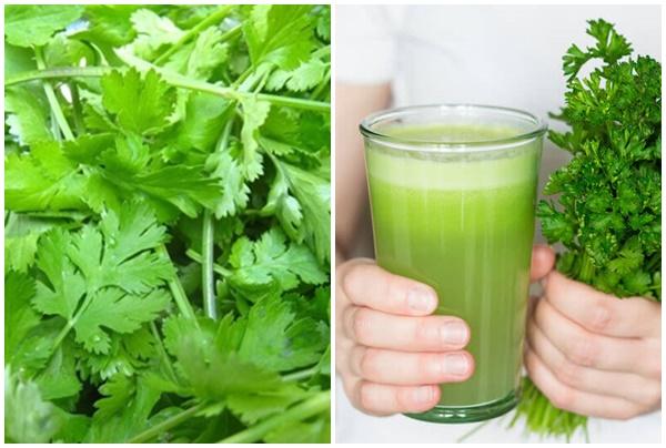 Tác dụng của rau mùi trong chữa nhiều căn bệnh hiệu quả.
