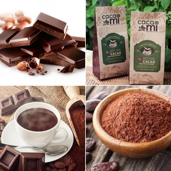 Sản phẩm từ ca cao được yêu thích nhất là sô cô la