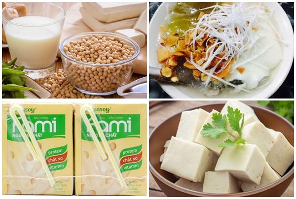 Đậu tương có tác dụng gì đối với sức khỏe khi dùng các loại chế phẩm như tào phớ, sữa,...