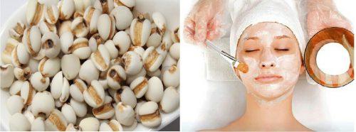 Hạt bo bo là một loại mỹ phẩm tự nhiên rất được ưa chuộng