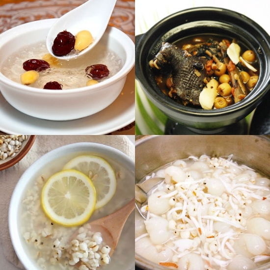 Cách chế biến hạt bo bo thành những món ăn thơm ngon, bổ dưỡng