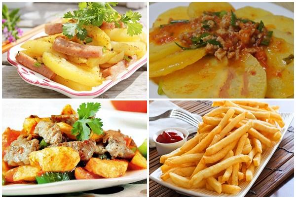 Khoai tây chiên là món ăn vặt nhiều người yêu thích.