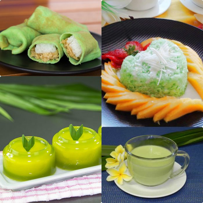 Cách chế biến lá dứa trong ẩm thực