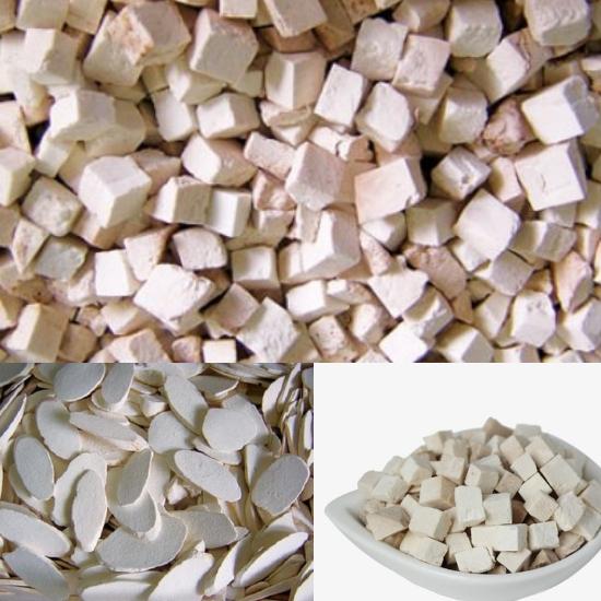 Nấm phục thần thường được sử dụng dưới dạng khô