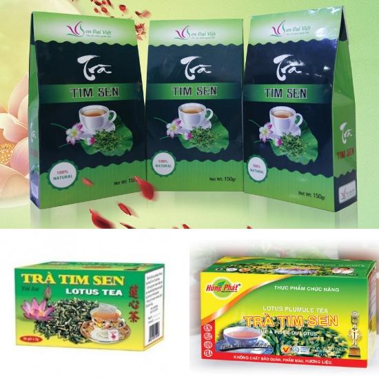 Sản phẩm từ tâm sen được nhiều người yêu thích nhất là trà