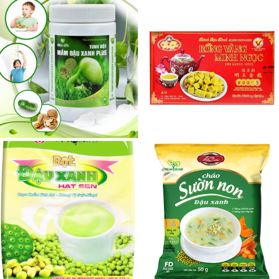 Những sản phẩm từ đậu xanh được nhiều người yêu thích