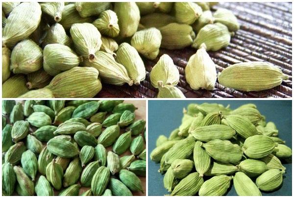 Hạt thảo quả xanh trên thị trường hiện nay.