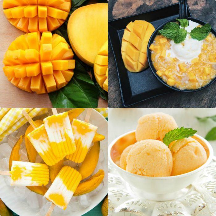 Cách chế biến xoài thành những món ăn thơm ngon, bổ dưỡng