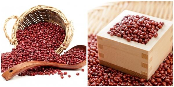 Cách chế biến món ăn từ đậu đỏ nhỏ.