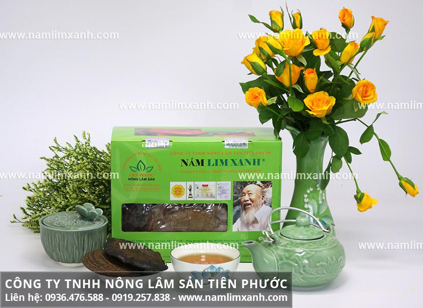 Nấm lim xanh giá bao nhiêu và phân biệt nấm lim rừng-trồng, thật-giả
