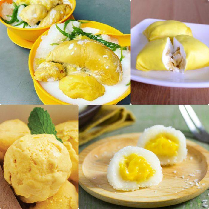 Chế biến sầu riêng thành các món ăn thơm ngon, bổ dưỡng