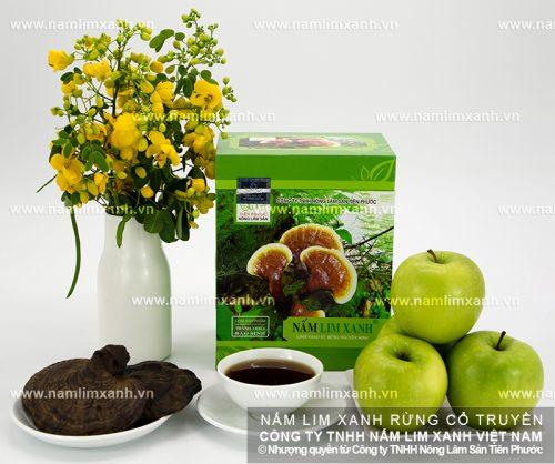 Cách dùng nấm lim xanh Tiên Phước chữa bệnh rất đơn giản