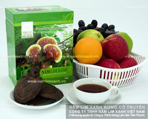 Nấm lim xanh của Công ty TNHH Nông lâm sản Tiên Phước có chất lượng tốt
