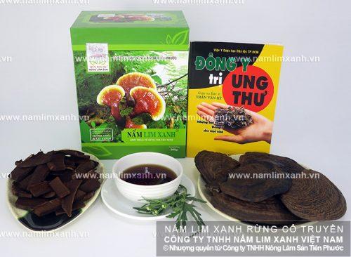 Sản phẩm nấm lim xanh Tiên Phước được nhiều người dùng tin tưởng bởi chất lượng tốt
