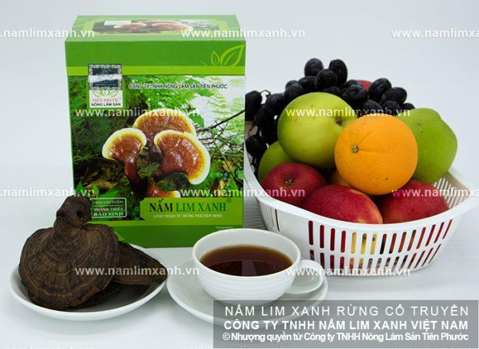 Cách pha trà nấm lim xanh có hàm lượng dược chất cao.