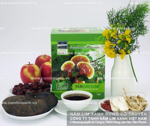 Cách nấu nước nấm lim xanh Quảng Nam hỗ trợ điều trị bệnh