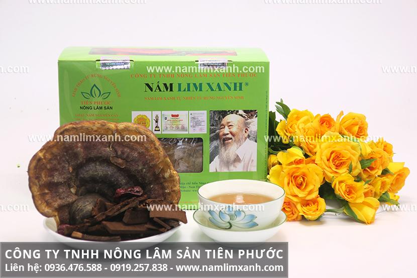 Công dụng của nấm lim xanh rừng Quảng Nam làm đẹp hiệu quả ra sao?