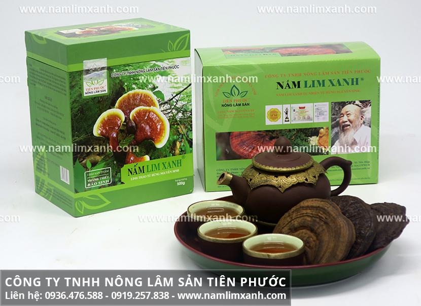 Công ty Nấm lim xanh Quảng Nam cung cấp nấm lim xanh rừng chất lượng