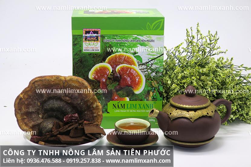 Giá 1kg nấm lim xanh Tiên Phước được công ty niêm yết công khai toàn quốc