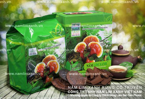 Hình ảnh sản phẩm nấm lim xanh Tiên Phước
