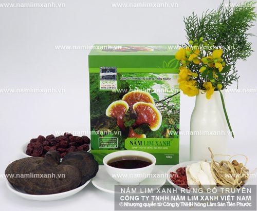 Sản phẩm nấm lim xanh tự nhiên của Công ty TNHH Nông lâm sản Tiên Phước
