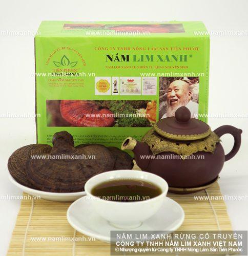 Sản phẩm nấm lim xanh của Công ty Tiên Phước luôn được đảm bảo về chất lượng và giá cả
