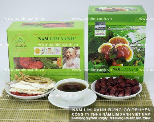 Nấm lim xanh của Công ty TNHH Nông lâm sản Tiên Phước được kiểm định về chất lượng