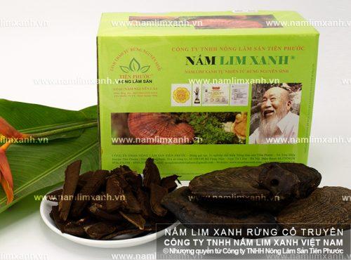 Sản phẩm nấm lim xanh của Công ty TNHH Nông lâm sản Tiên Phước