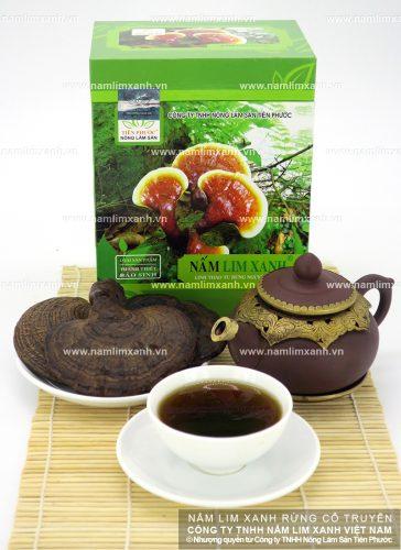 Sản phẩm nấm lim xanh của Công ty TNHH Nông lâm sản Tiên Phước tại đại lý Hà Nội