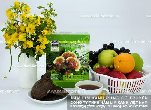 Sản phẩm nấm lim xanh chính hãng được bán tại các đại lý ở Đà Nẵng